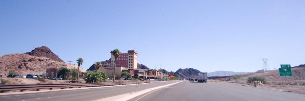 Hoover Dam Lodge from I-93