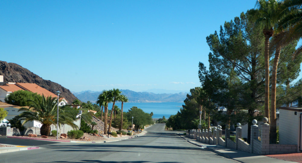 Heading towards Lake Mead on I-93