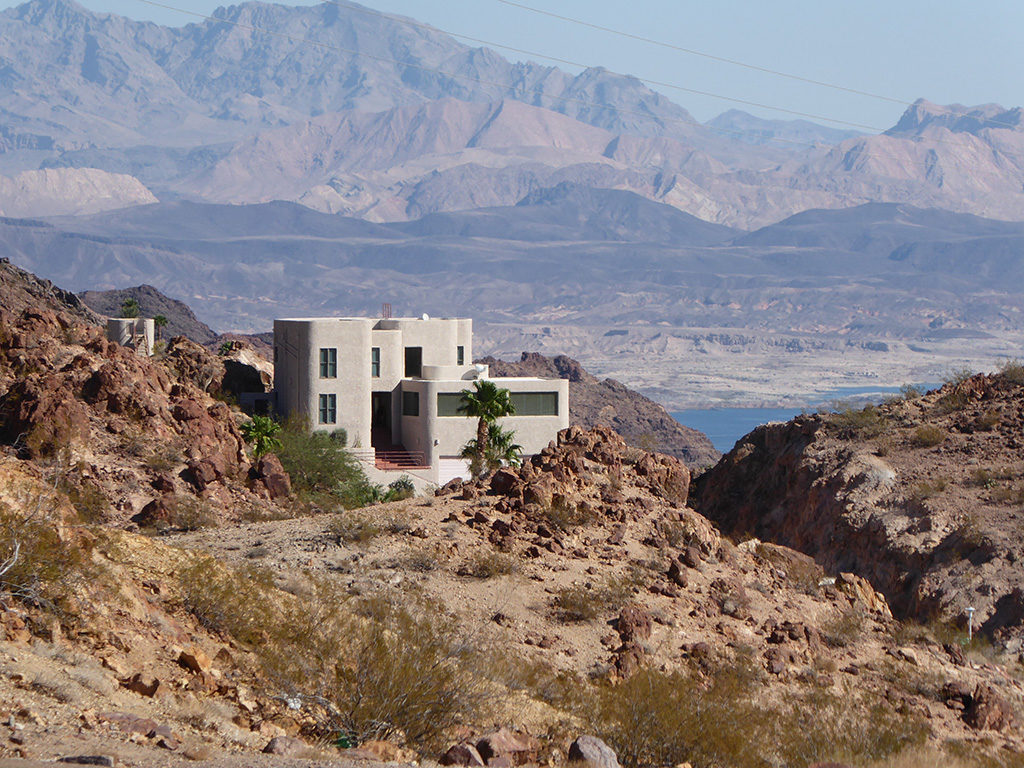 A House by Lake Mead