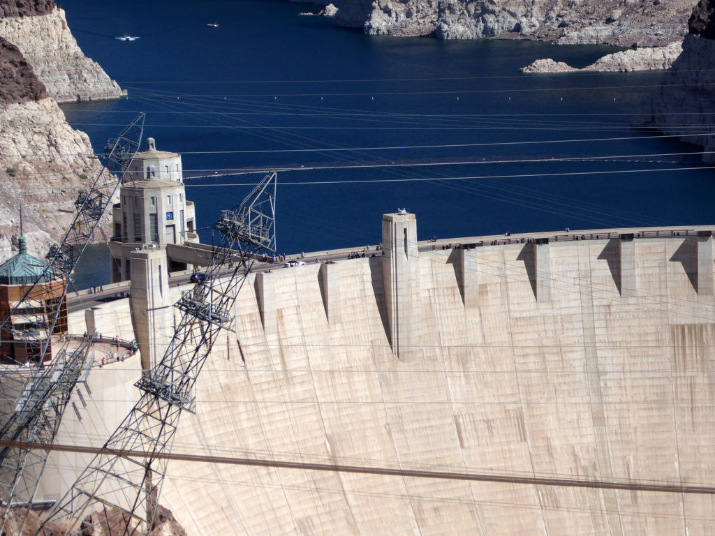 Hoover Dam close up