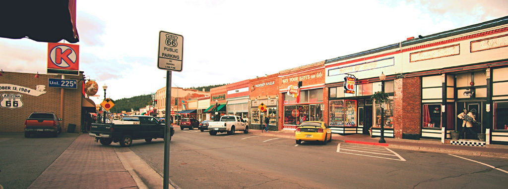 Shopes on Route 66
