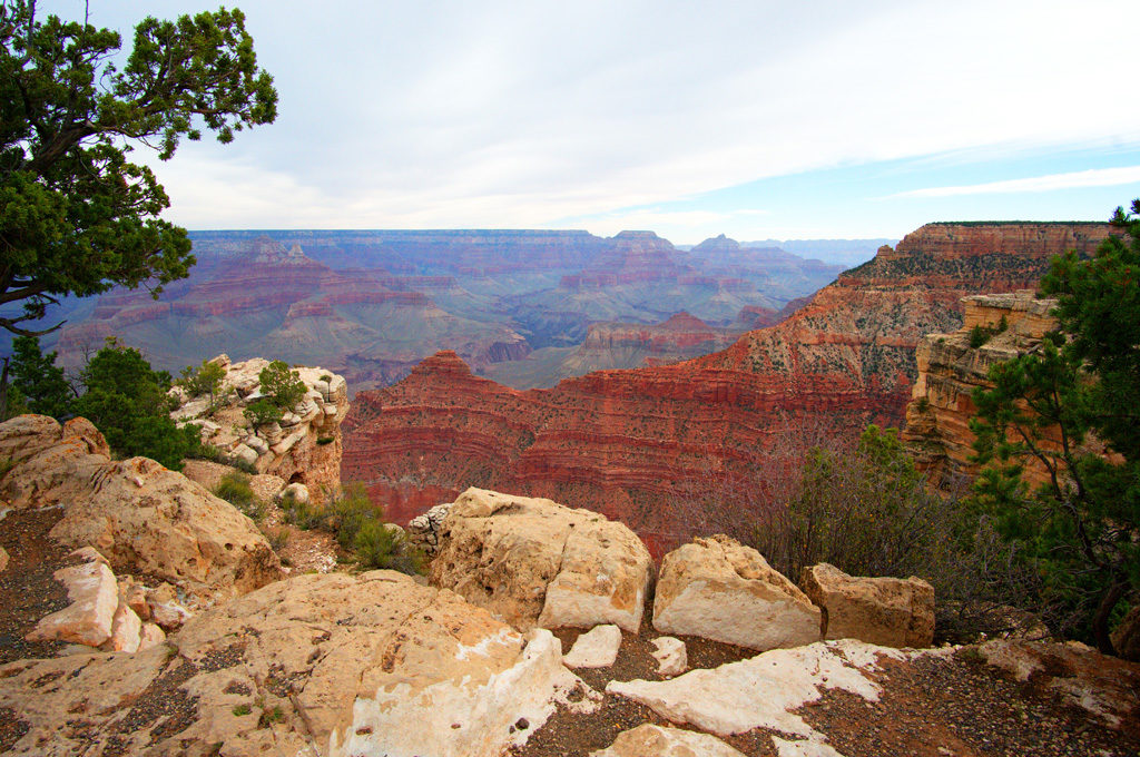 Grand Canyon First view