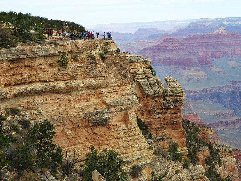 A view of Mather Point