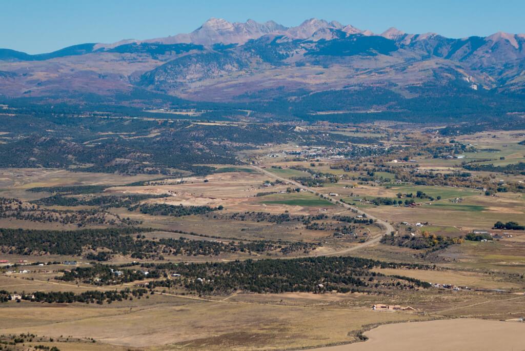 Mancos Valley Overlook, Mesa Verde National Park