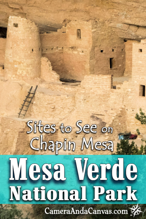 Mesa Verde National Park has some awesome viewpoints and overlooks! Check out these stops on Chapin Mesa, Mesa Top Loop Road, Cliff Palace Loop as you're driving by!