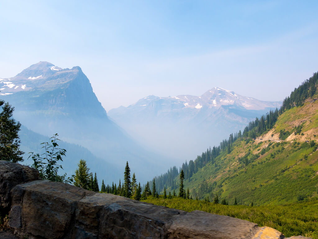 Glacier National Park wildfires