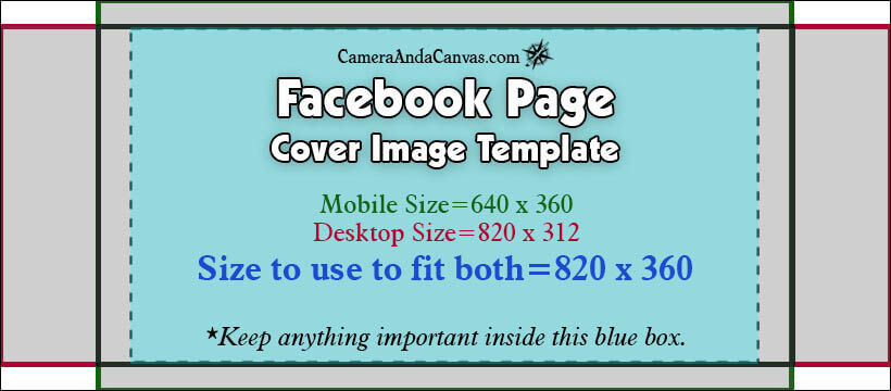 Facebook Page Cover Photo Size Template