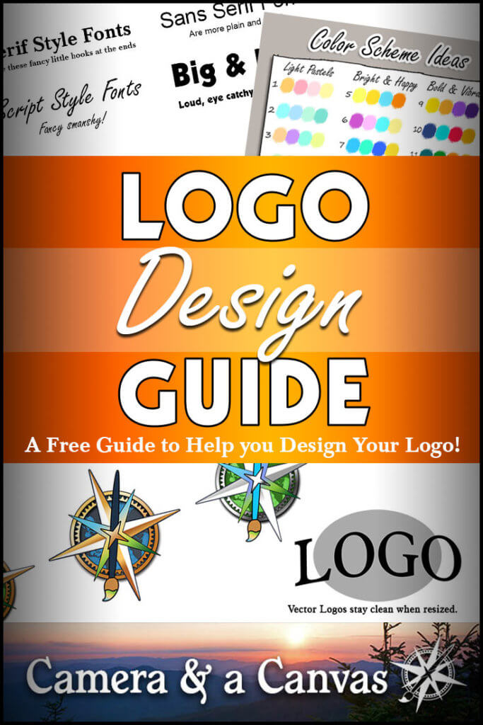 Logo Design 101, a free guide to help you design your logo! Logo design can be tough if you've never done it before, here are some tips and things you can do to make the process easier! #logodesign #designalogo #logoideas #colorschemes #howtochooseafont