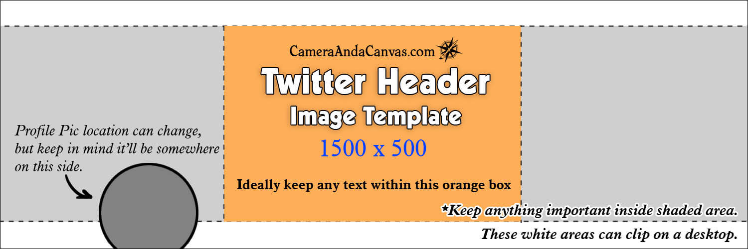Twitter Header Photo Size Template
