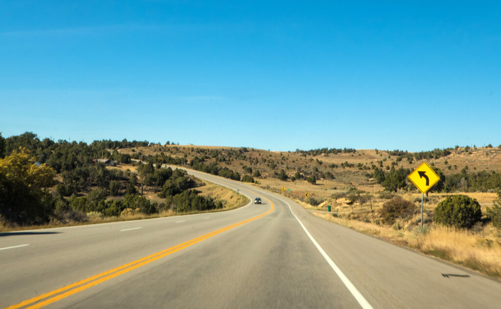 driving to Moab