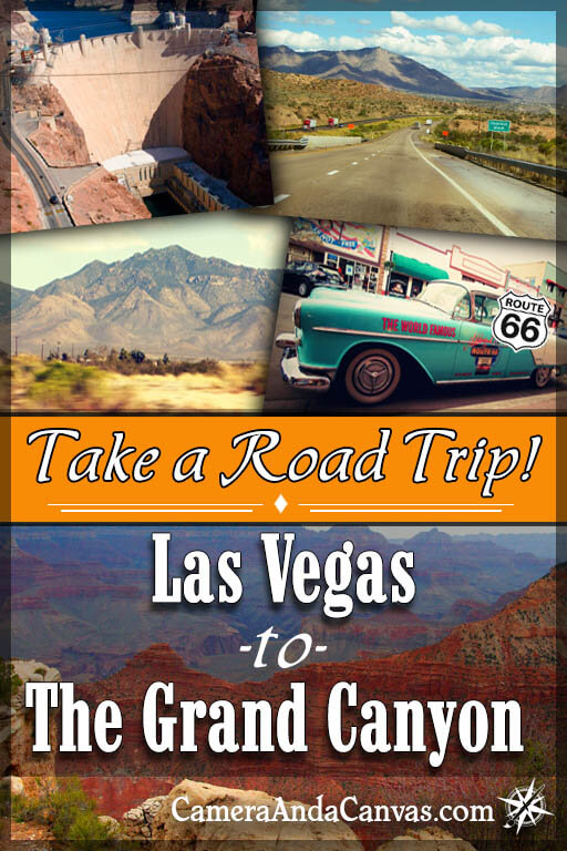 Driving From Las Vegas to Grand Canyon South Rim By Car – Camera and