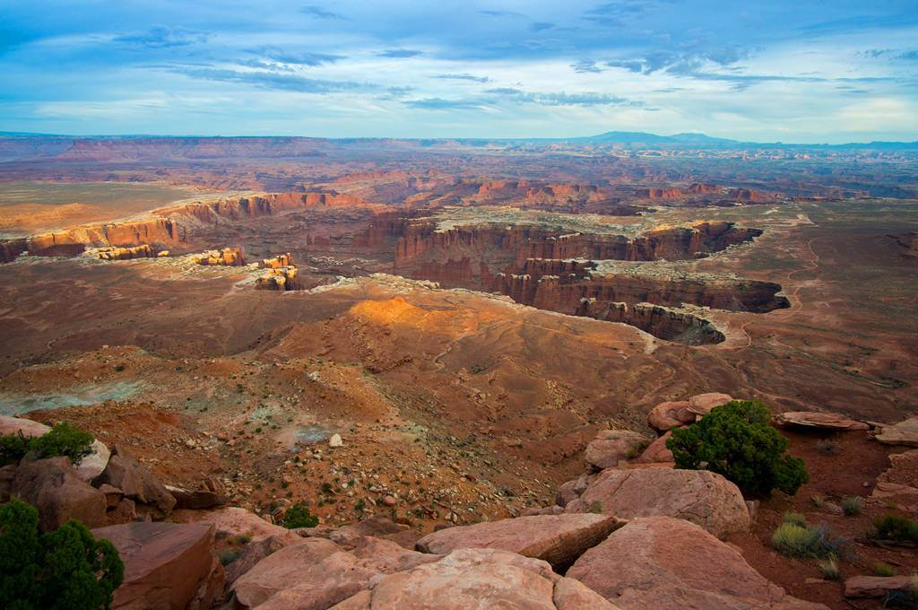 Grandview Point Overlook Canyonlands National Park