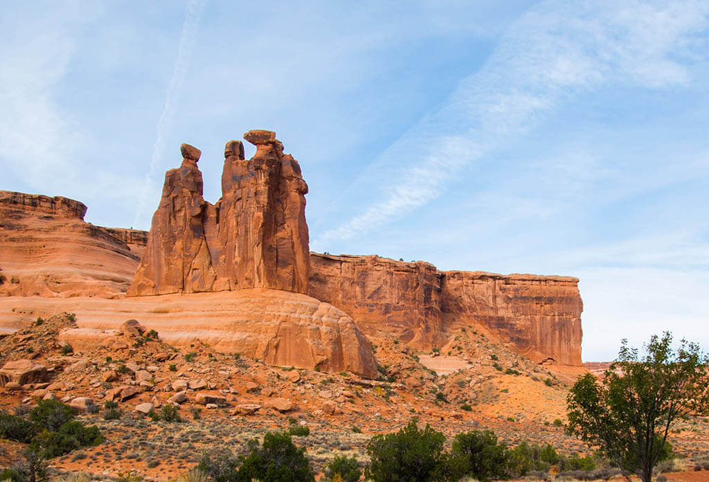 The Three Gossips Arches National Park
