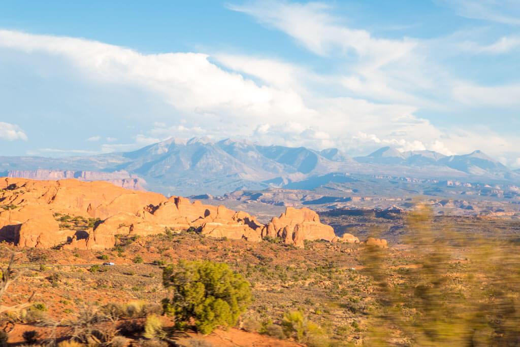 La Sal Mountains, Arches National Park