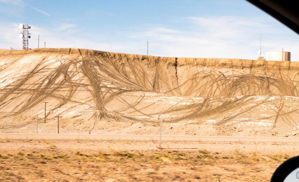 Dirt bike tracks