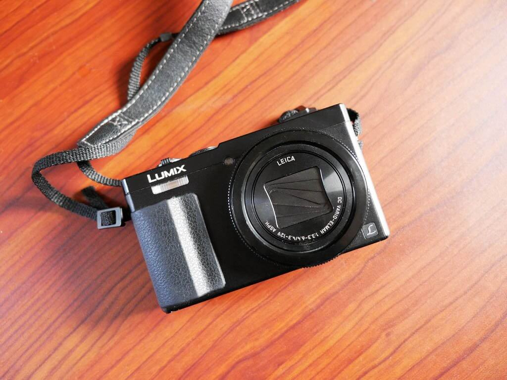 Panasonic Lumix ZS50 Camera, point and shoot