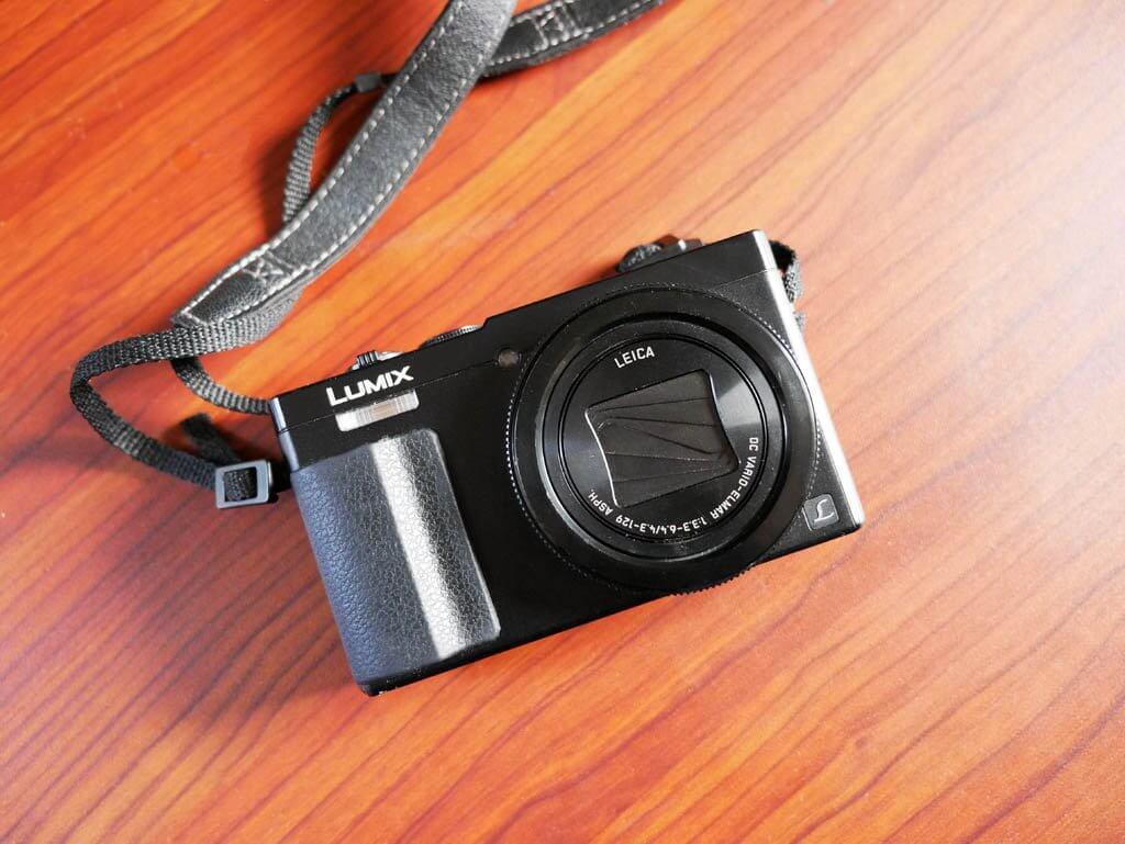 Panasonic Lumix ZS50 Camera, point and shoot