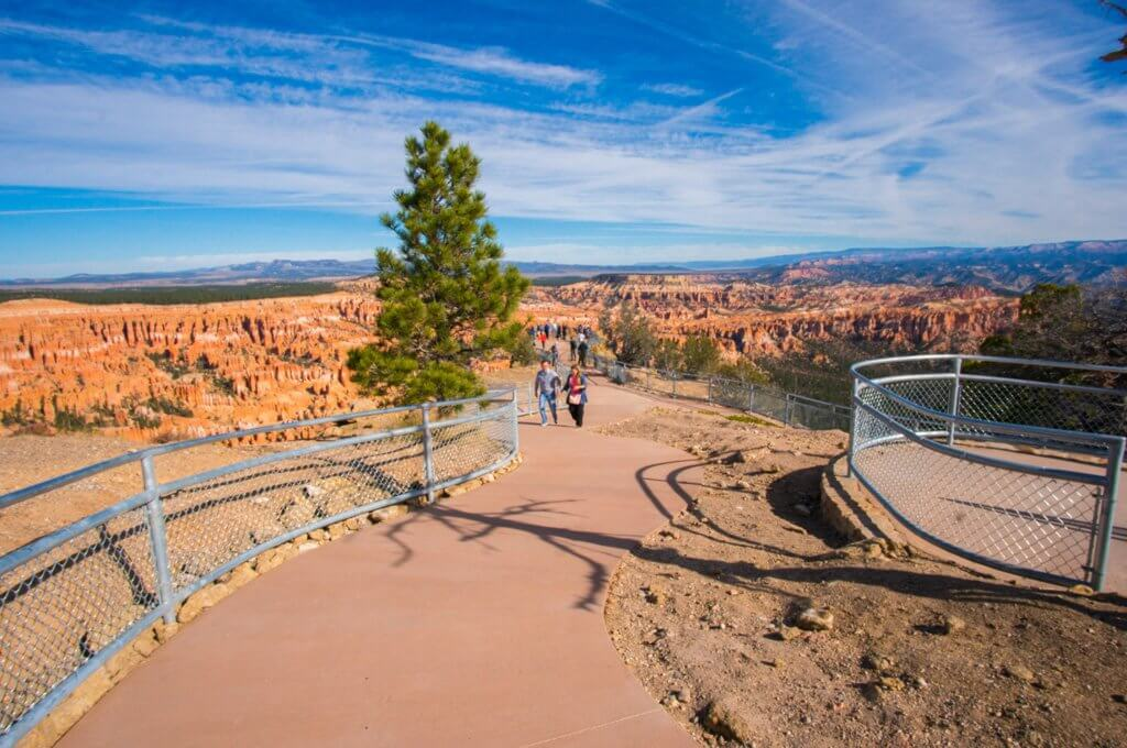Inspiration point Bryce National Park