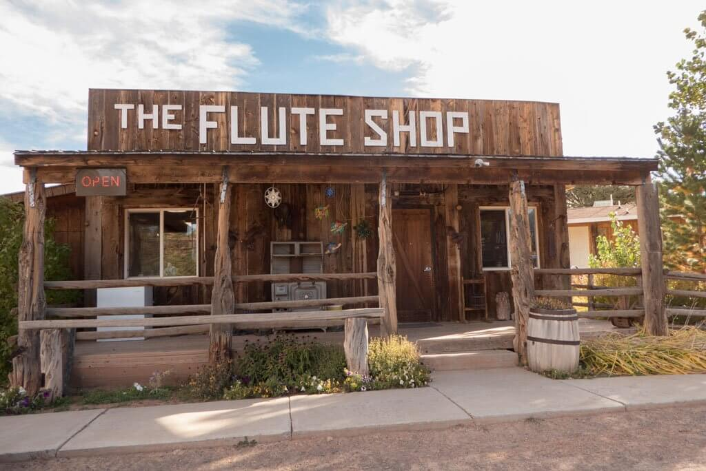 The Flute Shop near Torrey, Utah