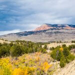 Beautiful rock and land formations on Utah Scenic Byway 12