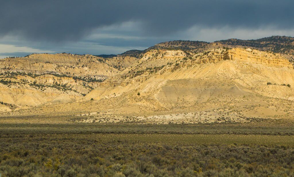Land formations on Utah Scenic Byway 12