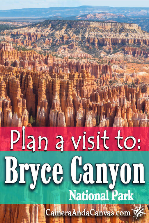 Plan a visit to Bryce Canyon National Park! Located in southern Utah, it's full of magnificent rock formations like hoodoos!