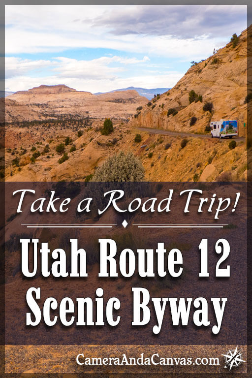 Utah Scenic Byway 12, bryce canyon to capitol reef, road trip