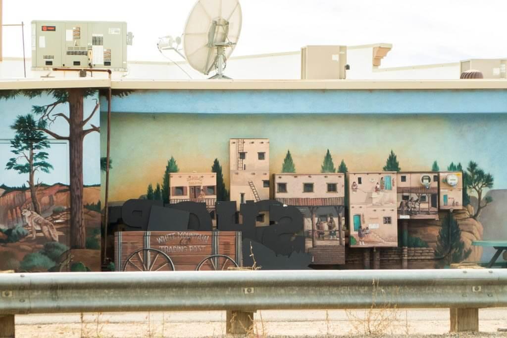 mount carmel junction mural