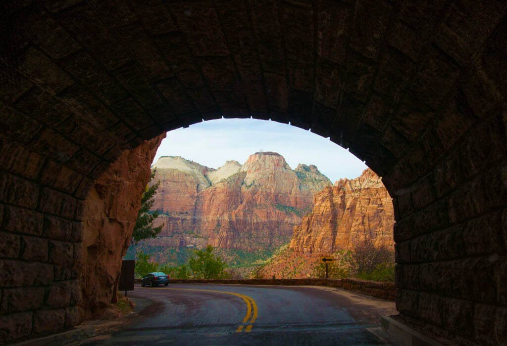 Zion mount carmel tunnel
