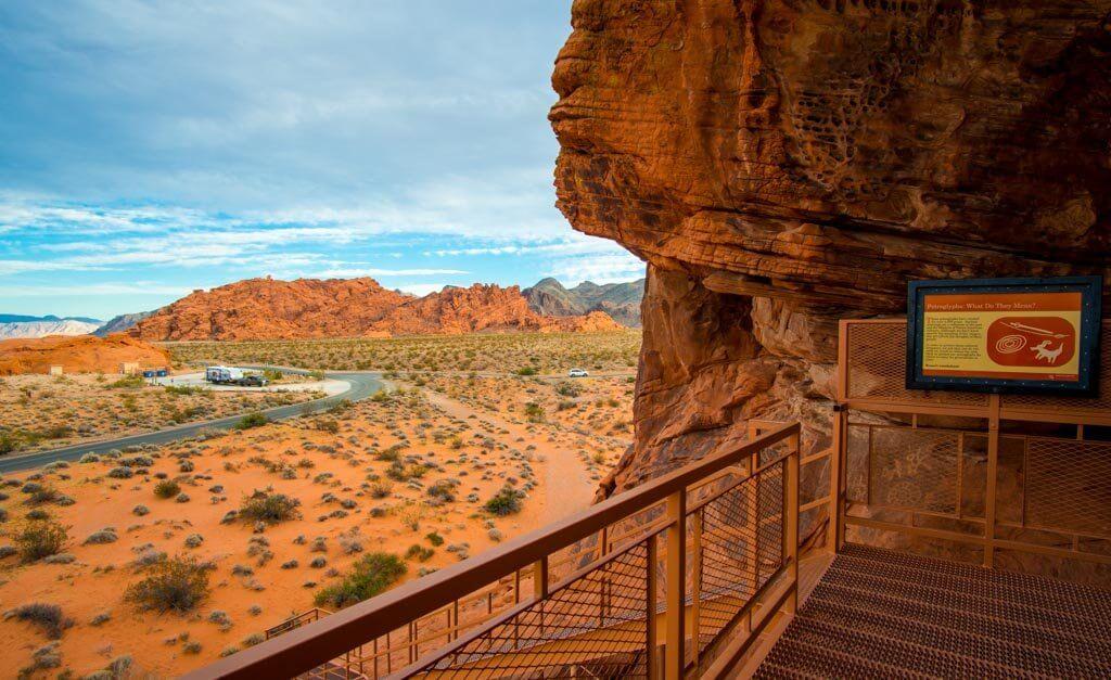 atlatl rock view