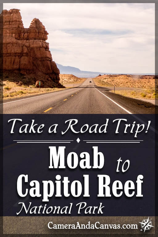moab to capitol reef