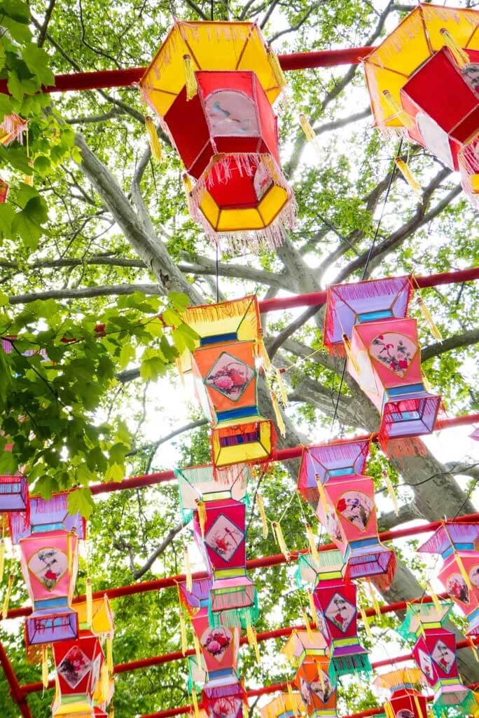 Chinese Lantern Festival 2017, Franklin Square, Philadelphia.