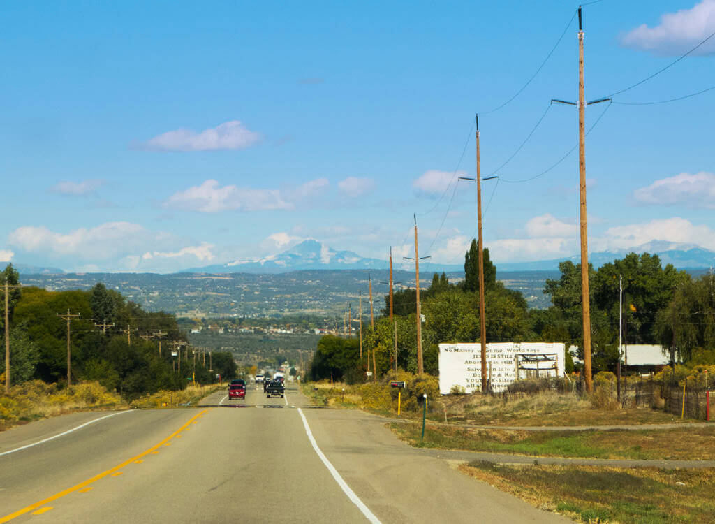 Cortez, CO, San Juan Mountain Range