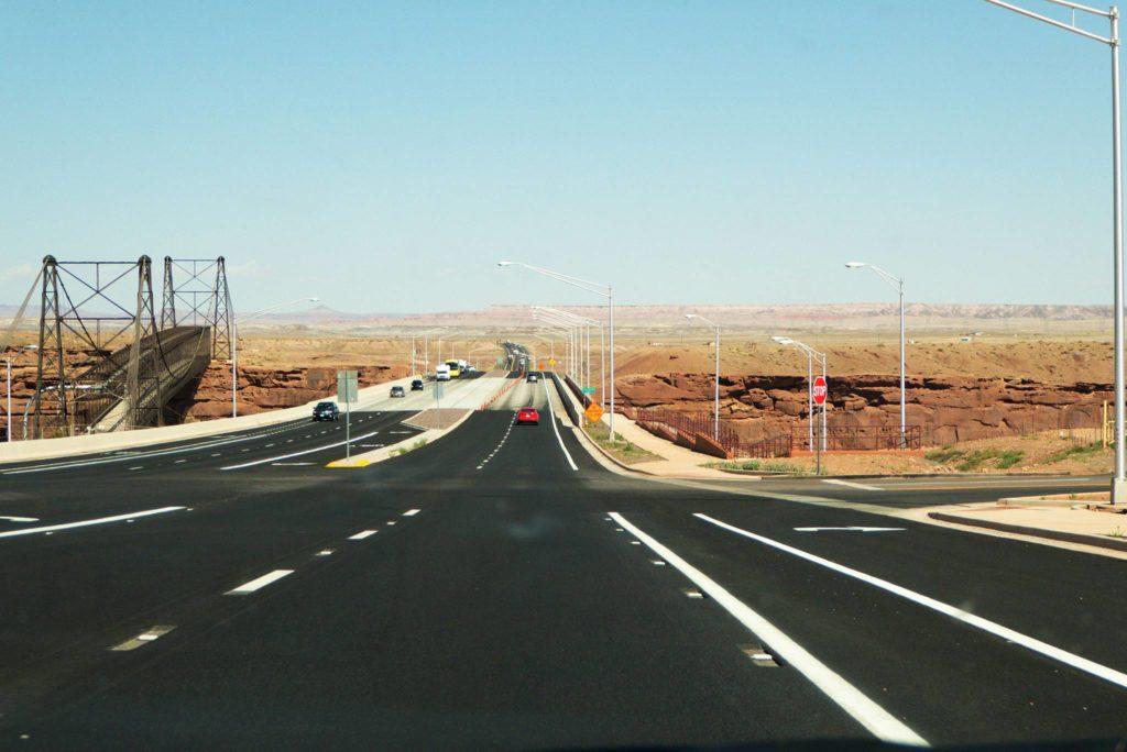 Cameron Bridge in Arizona, Navajo Nation.