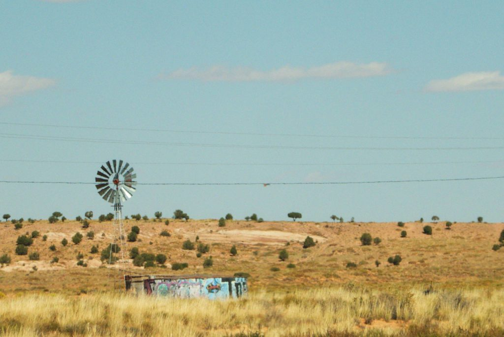 Desert Windmills