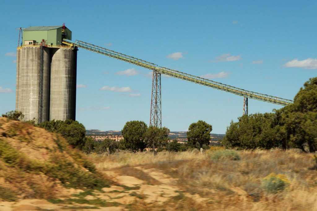 Coal slurry pipeline, for Black Mesa Peabody Coal