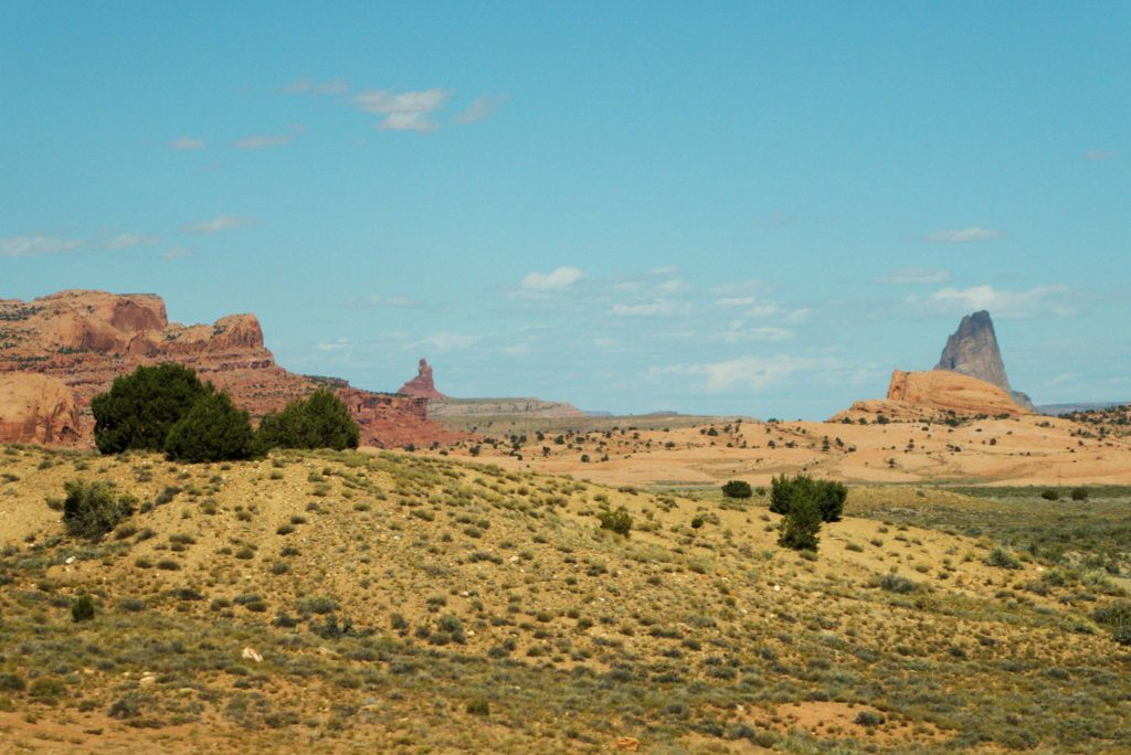 Driving to Monument Valley from Grand Canyon South Rim