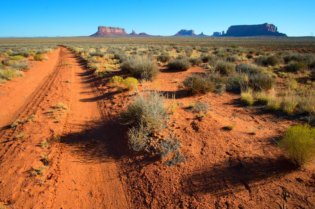 Monument Valley desert road